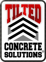 Tilted Concrete Solutions, Houston, Texas, Logo Design by DryLander